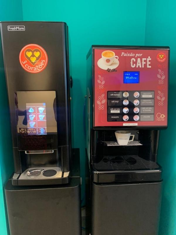 Comodato Máquina de Café para Empresas Cidade Morumbi - Comodato Máquina de Café Automática