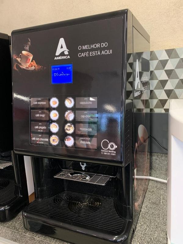 Locação de Máquina de Café Valor Jardim Maringá - Locação Máquina de Café de Cápsulas