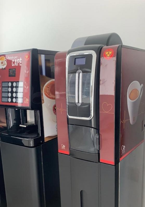 Locação de Máquinas de Café para Empresas São Conrado - Locação Máquina de Café Industrial