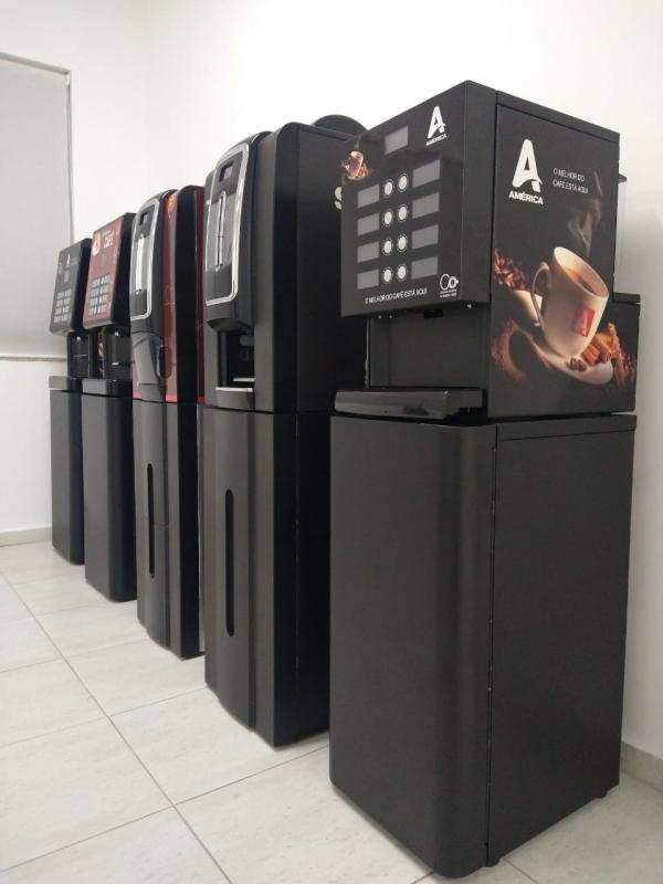 Locação Máquina de Café 3 Corações Preço Vila Rica - Locação Máquina de Café para Escritório