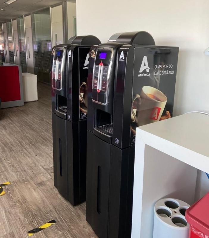 Locações de Máquinas de Café Cosme Velho - Locação de Máquina de Café para Empresas