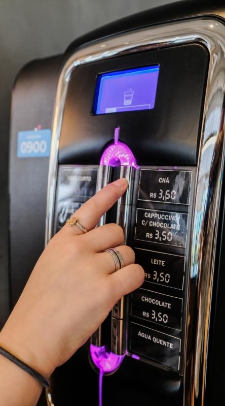 Máquina Café Expresso Profissional - Connect Vending