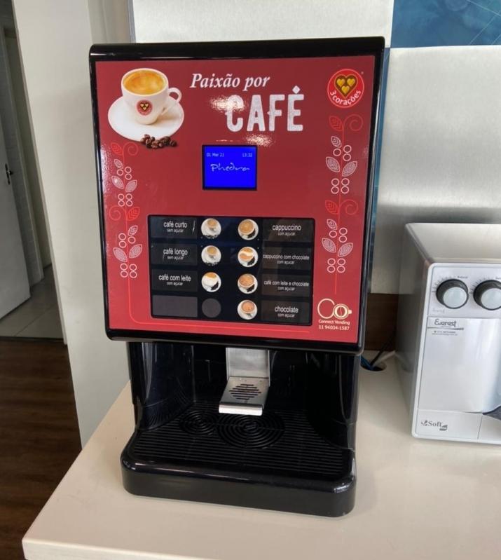 Máquina de Café Espresso 3 Corações Locação Vila Georgina - Máquina de Café Três Corações Profissional