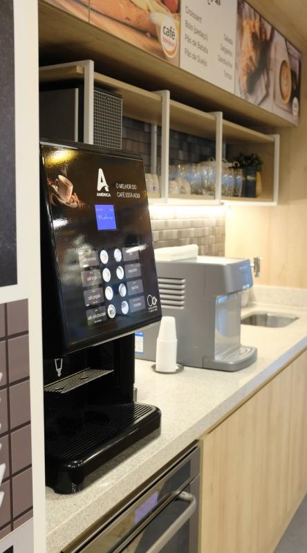 Máquina de Café Expresso Automática - Connect Vending