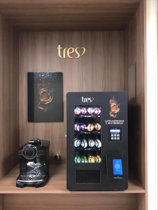 Máquina de Café Expresso para Alugar - Connect Vending