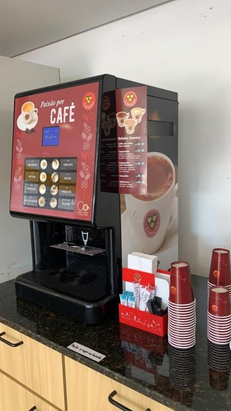 Máquina de Café Expresso para Comércio - Connect Vending