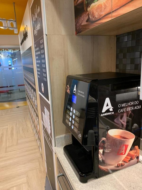 Máquina de Café Expresso para Conveniência Preço Jardim Terras do Sul - Máquina de Café Expressa America