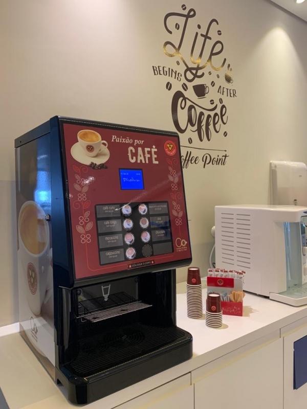 Máquina de Café Expresso Profissional para Cafeteria - Connect Vending