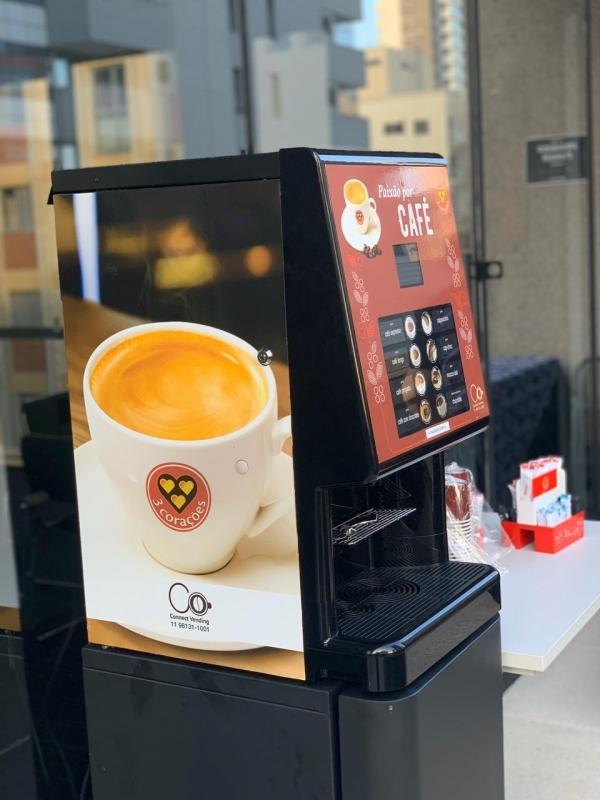 Máquina de Café Profissional para Cafeteria - Connect Vending