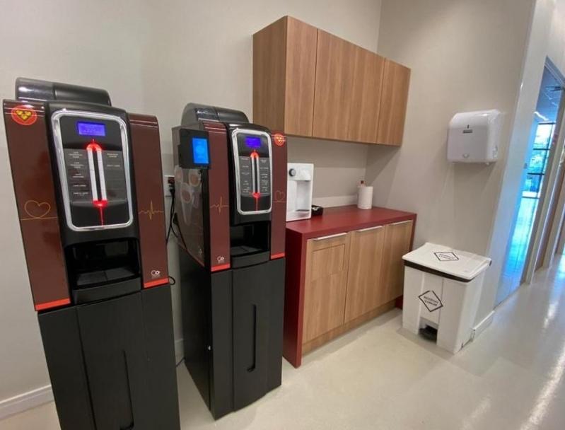 Máquina de Café Três Corações Automática Locação Parada Inglesa - Máquina de Café Expresso Três Corações