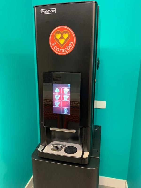 Máquina de Café Três Corações para Corporativo Locação Ibirapuera - Três Corações Máquina de Café