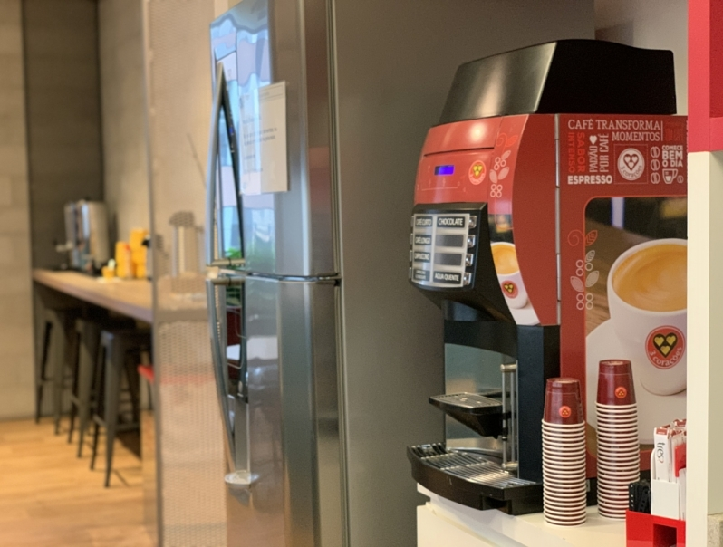 Máquina de Café Três Corações para Corporativo Valor Mirante I - Máquina de Café Três Corações Profissional
