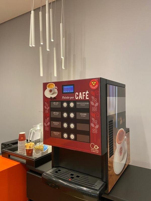 Máquinas Café Comodato Chácaras São José - Máquina de Café para Empresas Comodato