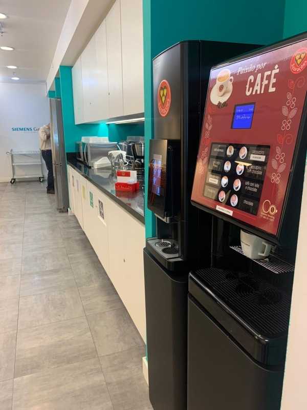 Onde Faço Locação Máquina de Café para Empresas Centro - Locação Máquina de Café Expresso em Cápsula