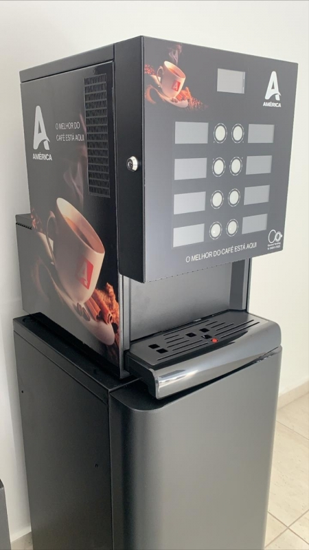 Onde Faço Locação Máquina de Café Profissional Interlagos - Locação Máquina de Café para Empresas