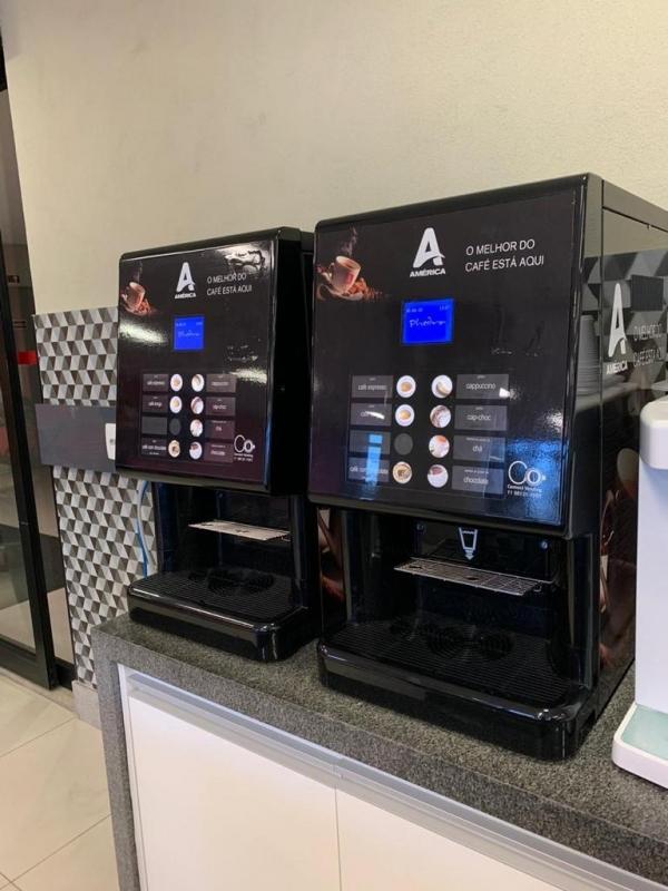 Onde Faço Locação Máquina de Café Paulínia - Locação Máquina de Café Profissional