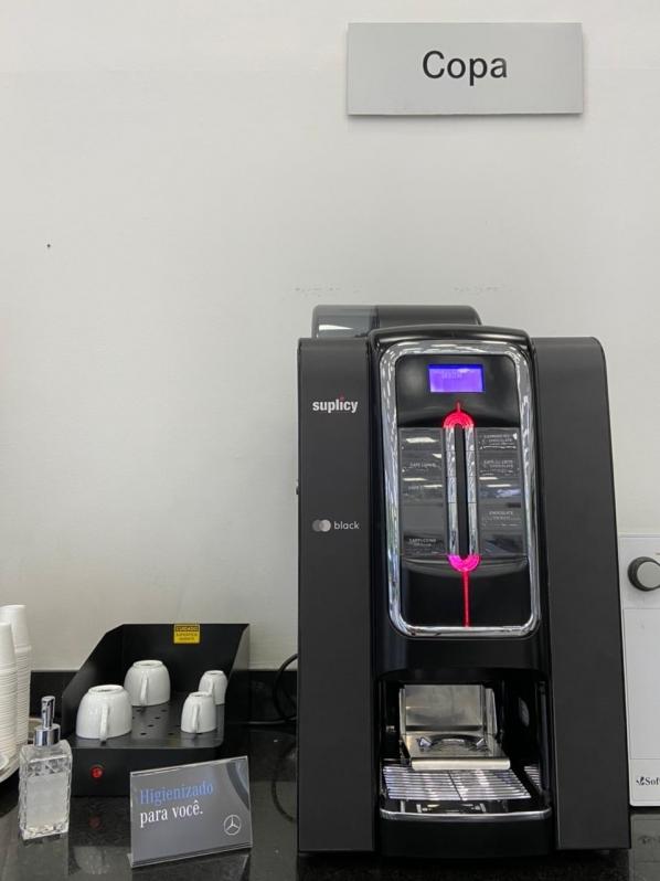 Procuro por Vending Machine de Bebidas Quentes Rio de Janeiro - Vending Machine para Escritório