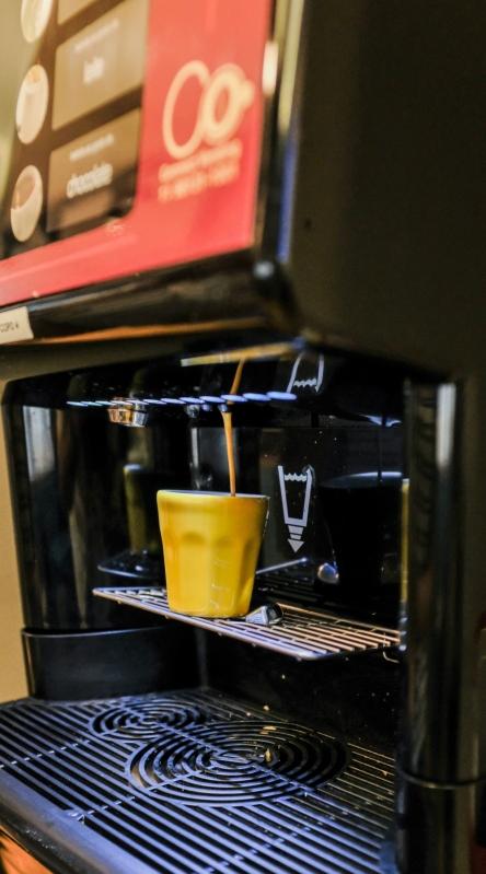 Procuro por Vending Machine de Café Expresso Comodato Barra da Tijuca - Vending Machine para Escritório