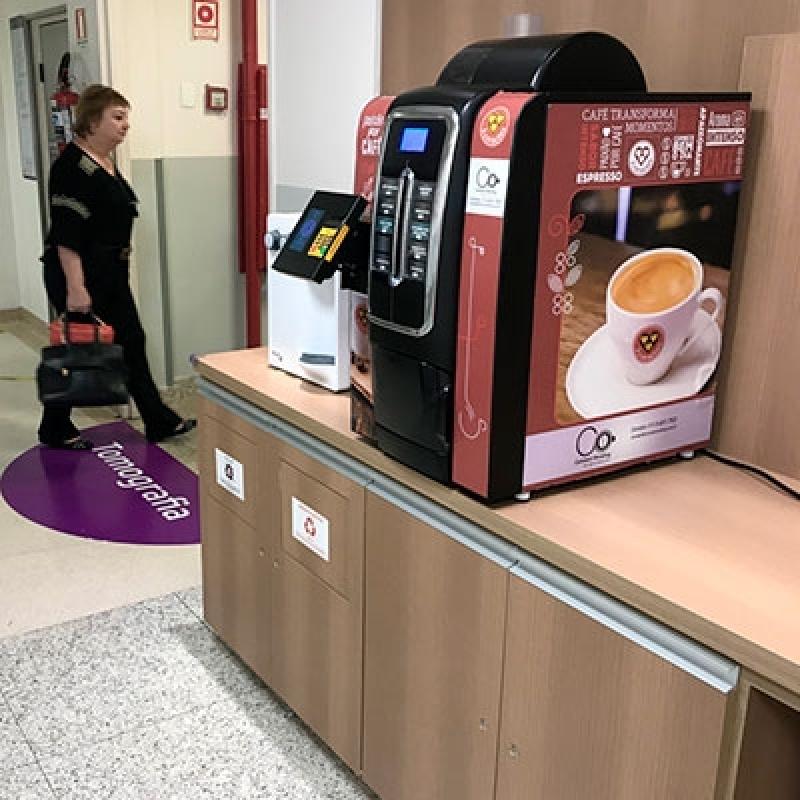 Quanto Custa Locação Máquina de Café Itapevi - Locação Máquina de Café de Cápsulas
