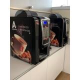 aluguel máquina de café automática valor Alto da Mooca