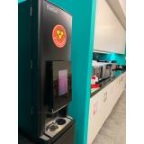 distribuidor de máquina café empresa Água Rasa
