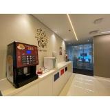 distribuidor de máquina café expresso para empresa Flamengo