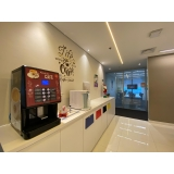 distribuidor de máquina de café empresarial Água Branca