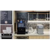 distribuidor de máquina de café expresso para comércio Jardim Aquárius