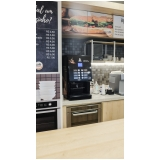 distribuidor de máquina de café expresso para padaria Jardim Botânico