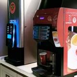 distribuidor de máquina de café para empresa Lagoa