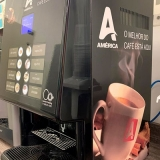 distribuidor de máquina de fazer café expresso Anália Franco