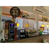 fornecedor de máquina de café expresso para comércio MUTINGA