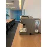 locação máquina de café de cápsulas