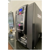 locação máquina de café para escritório preço Lagoa