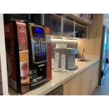 locação máquina de café para escritório Jockey Clube