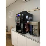 máquina de fazer café em cápsula