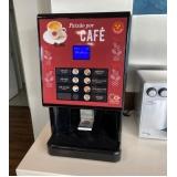 máquina de café espresso 3 corações locação Ipanema