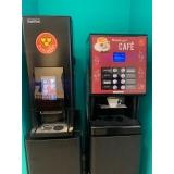 máquina de café expresso hospital