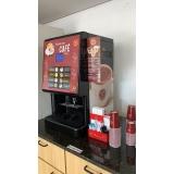 máquina de café expresso para comércio Instituto da Previdência