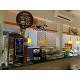máquina de café expresso para padaria preço Parque Anchieta