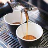 máquina de café expresso profissional Santo André