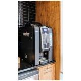 máquina de café escritório