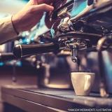 máquina de café expresso industrial