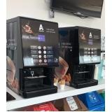máquina de café para empresas com cobrança Aeroporto