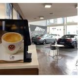 máquina profissional café
