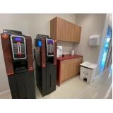 máquina de café três corações automática locação Galeão