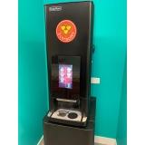 máquina de café três corações para corporativo locação Leblon