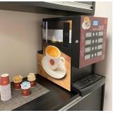 máquina de café três corações para empresas locação Instituto da Previdência