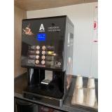 máquina de cápsula de café locação valor americana