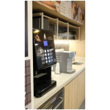máquinas com cápsula de café Jardim Vale do Sol